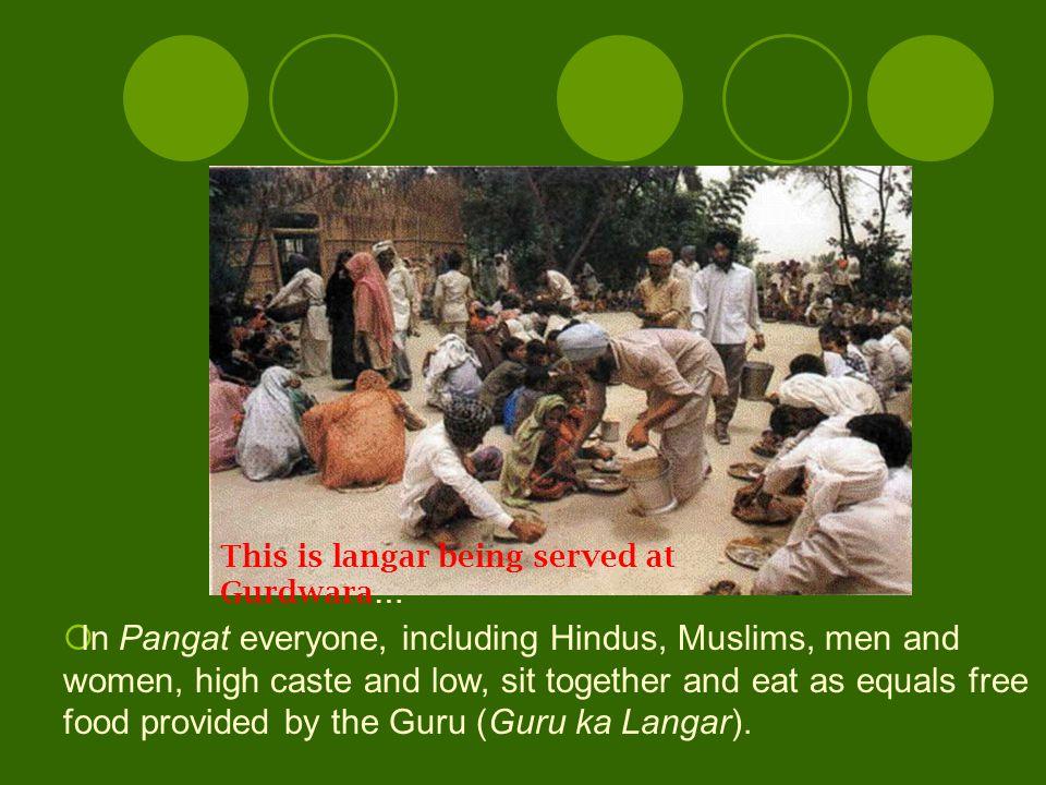 BHAGAT KABIR –MUSLIM WEAVER BHAGAT RAVIDAS--COBBLER Anyone who loves Him can realize Him. ijnI n`mu iDE`ieE` gey mskiq G`ilÒ The Guru thus, rejected t