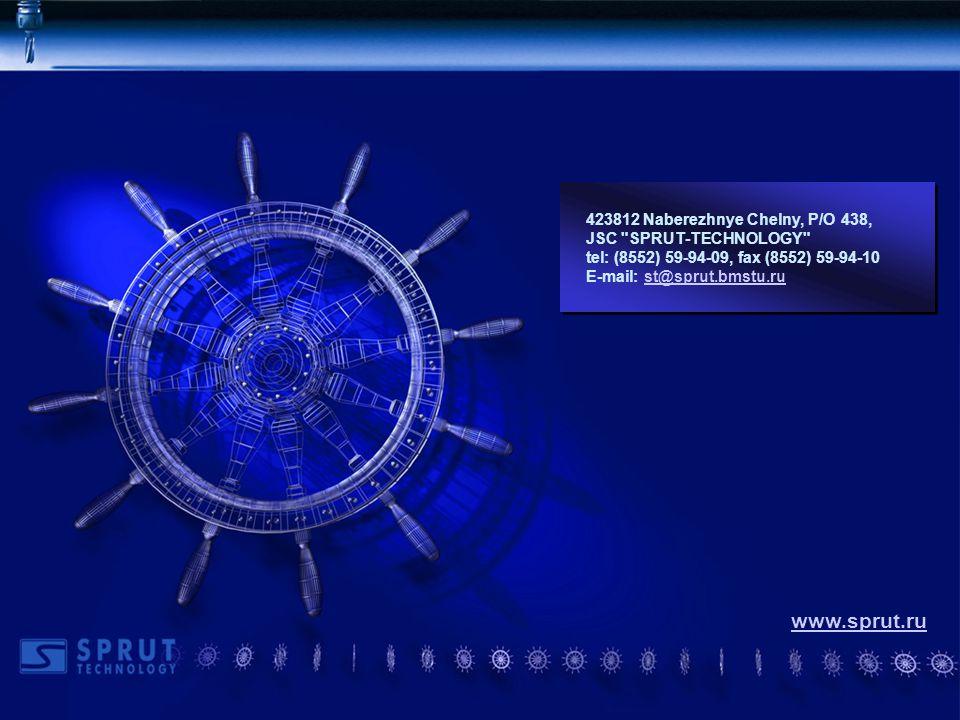 Конец 423812 Naberezhnye Chelny, P/O 438, JSC SPRUT-TECHNOLOGY tel: (8552) 59-94-09, fax (8552) 59-94-10 E-mail: st@sprut.bmstu.rust@sprut.bmstu.ru 423812 Naberezhnye Chelny, P/O 438, JSC SPRUT-TECHNOLOGY tel: (8552) 59-94-09, fax (8552) 59-94-10 E-mail: st@sprut.bmstu.rust@sprut.bmstu.ru www.sprut.ru