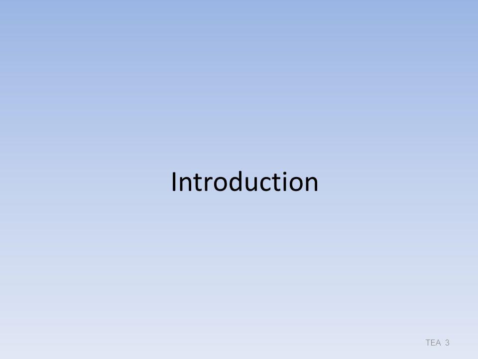 Introduction TEA 3