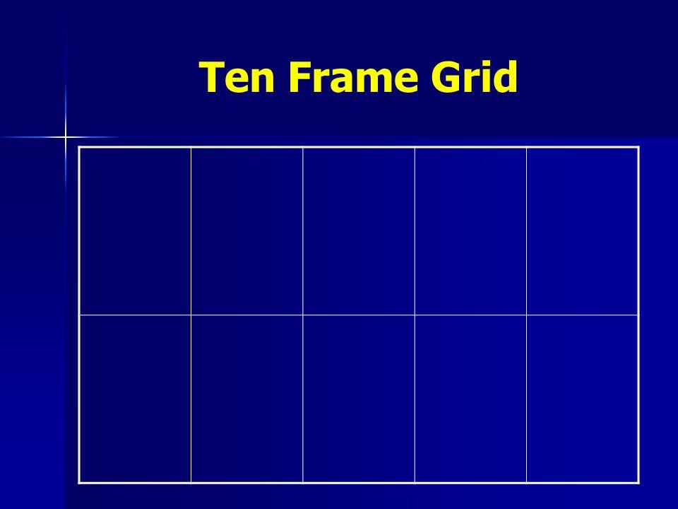 Ten Frame Grid