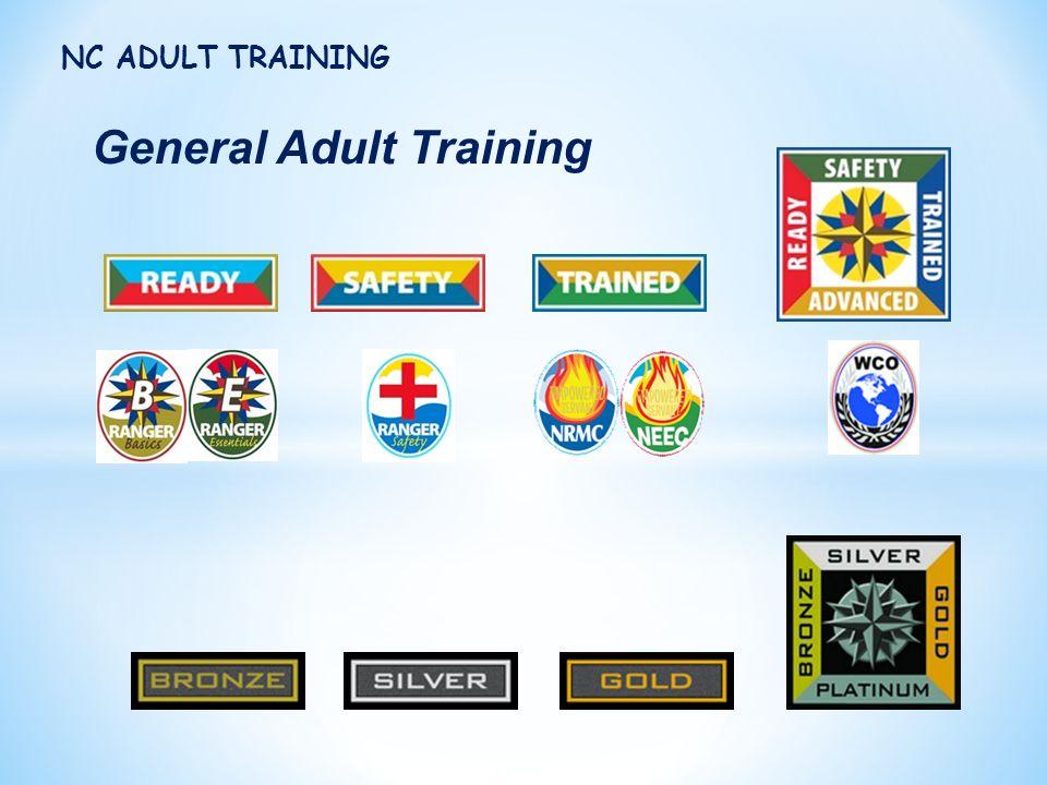 General Adult Training NC ADULT TRAINING