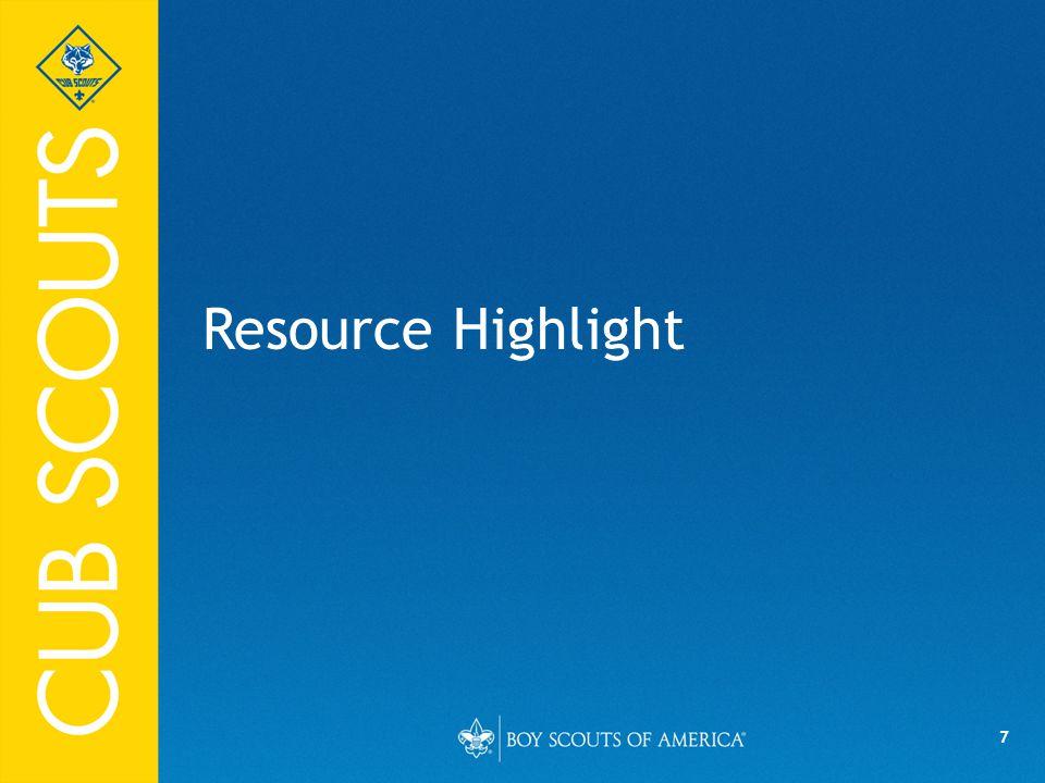 7 Resource Highlight