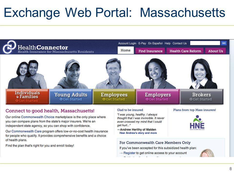 Exchange Web Portal: Massachusetts 8