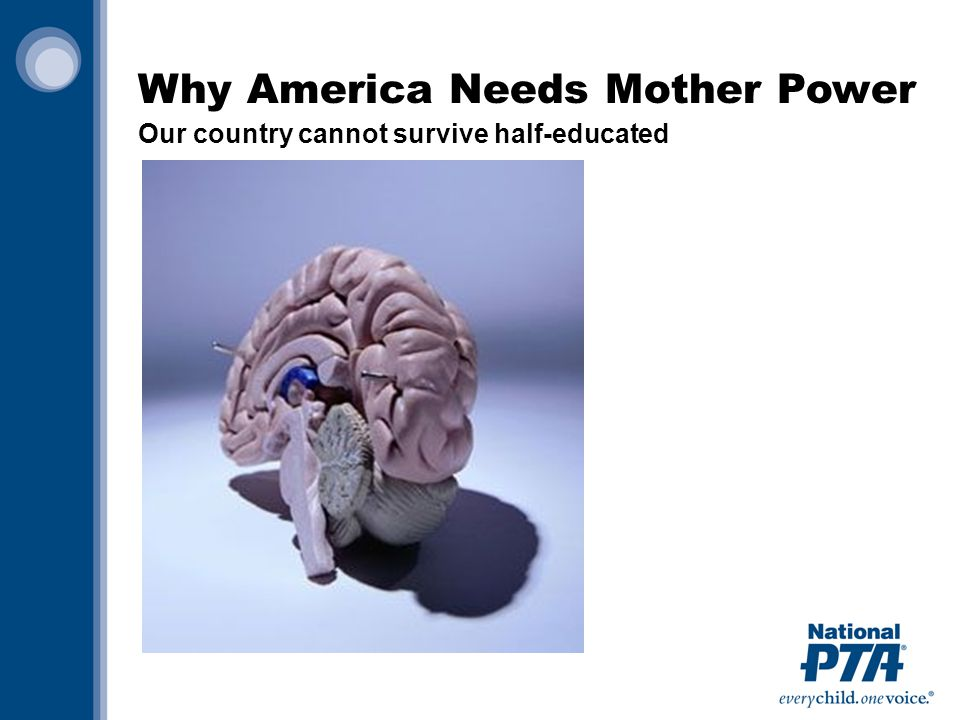 Why America Needs Mother Power Our country cannot survive half-educated