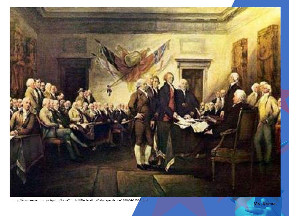 Ideas of John Locke Author:Thomas Jefferson Legal argument to end social contract w/ England Ms.