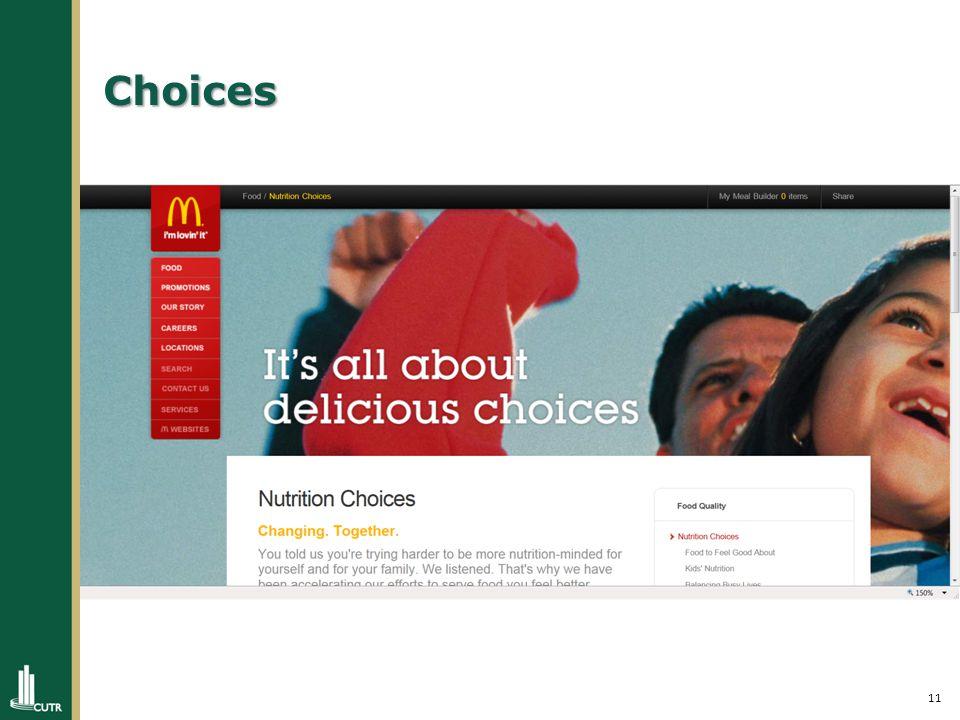 11 Choices