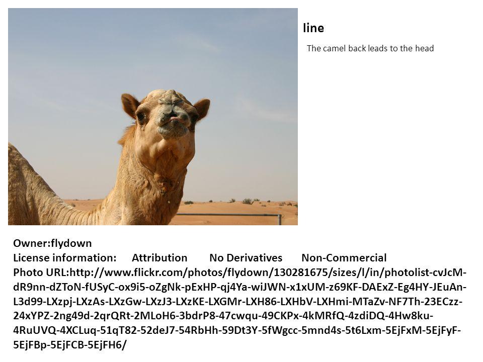 line The camel back leads to the head Owner:flydown License information: Attribution No Derivatives Non-Commercial Photo URL:http://www.flickr.com/photos/flydown/130281675/sizes/l/in/photolist-cvJcM- dR9nn-dZToN-fUSyC-ox9i5-oZgNk-pExHP-qj4Ya-wiJWN-x1xUM-z69KF-DAExZ-Eg4HY-JEuAn- L3d99-LXzpj-LXzAs-LXzGw-LXzJ3-LXzKE-LXGMr-LXH86-LXHbV-LXHmi-MTaZv-NF7Th-23ECzz- 24xYPZ-2ng49d-2qrQRt-2MLoH6-3bdrP8-47cwqu-49CKPx-4kMRfQ-4zdiDQ-4Hw8ku- 4RuUVQ-4XCLuq-51qT82-52deJ7-54RbHh-59Dt3Y-5fWgcc-5mnd4s-5t6Lxm-5EjFxM-5EjFyF- 5EjFBp-5EjFCB-5EjFH6/