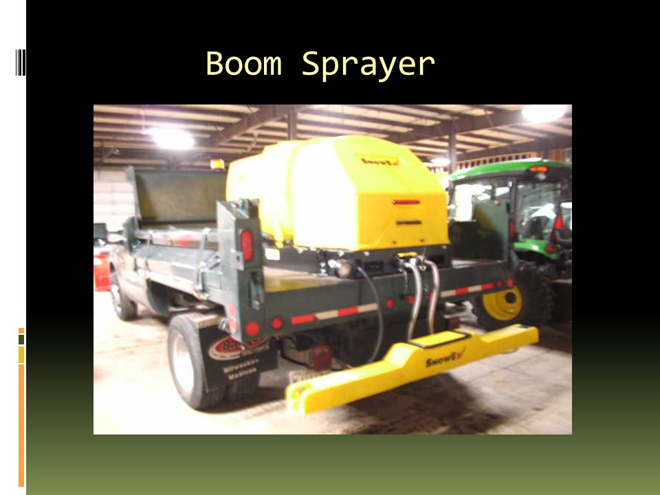 Boom Sprayer