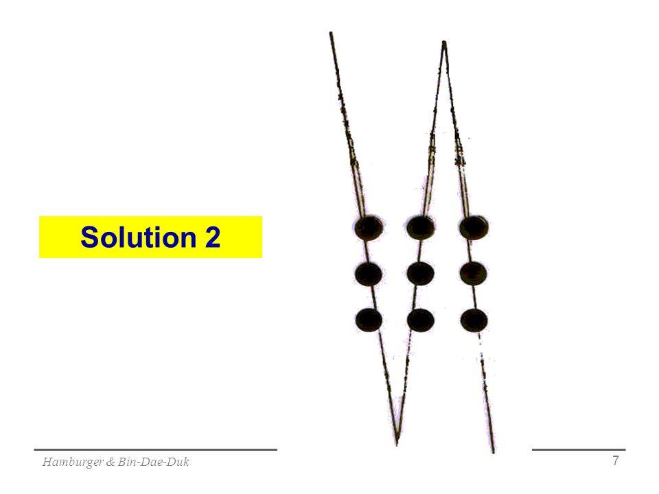 Hamburger & Bin-Dae-Duk 7 Solution 2
