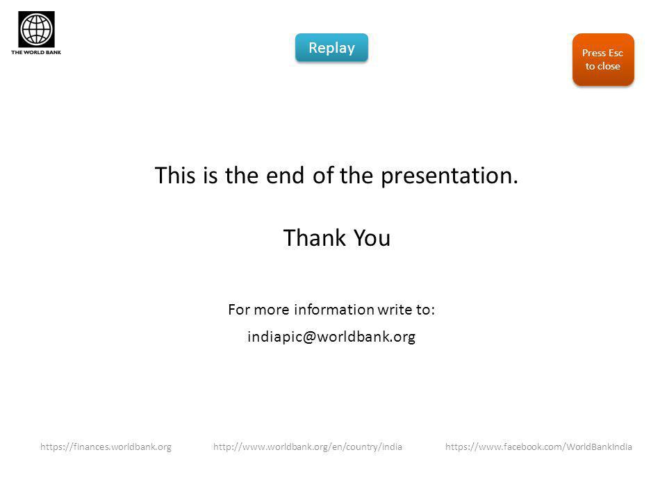This is the end of the presentation.