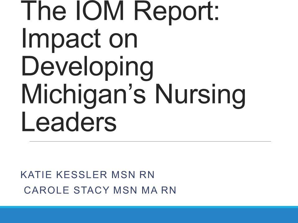 Progress: Education Medicare providing funds for Graduate Nurse Education in five states RWJF launches Future of Nursing Scholars program for PhD study