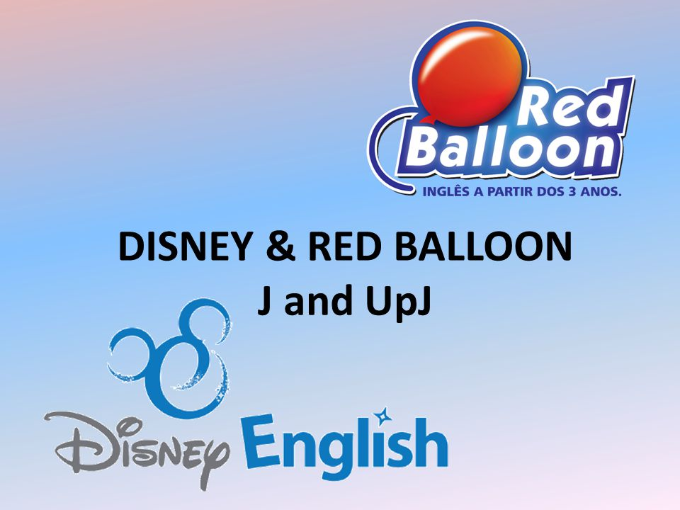 DISNEY & RED BALLOON J and UpJ