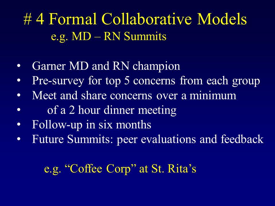 # 4 Formal Collaborative Models e.g.