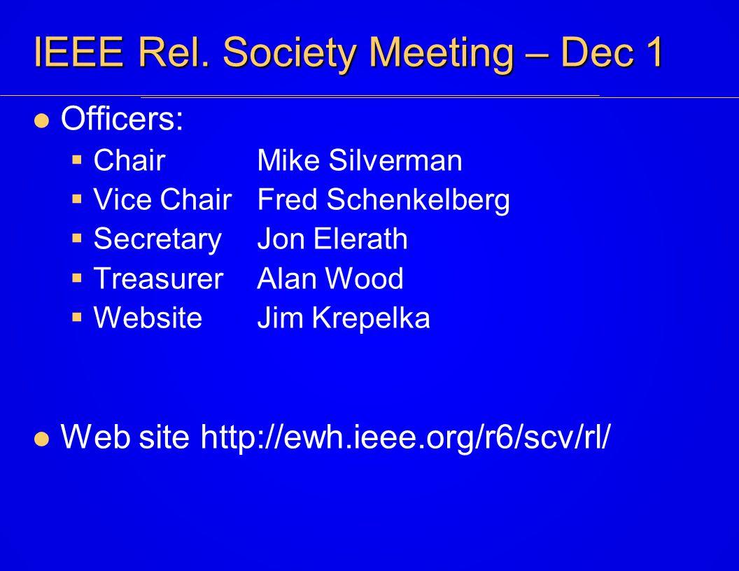 IEEE Rel.