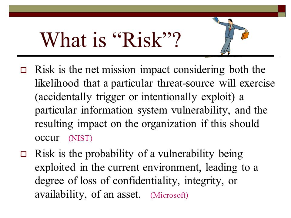 What is Risk .