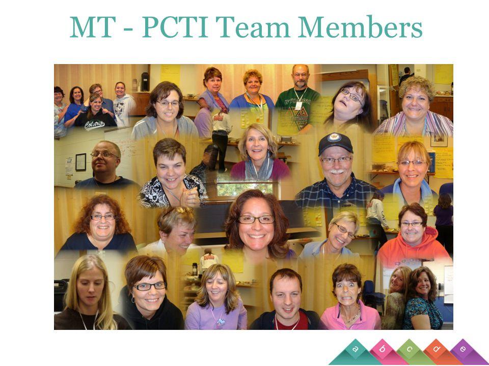 MT - PCTI Team Members