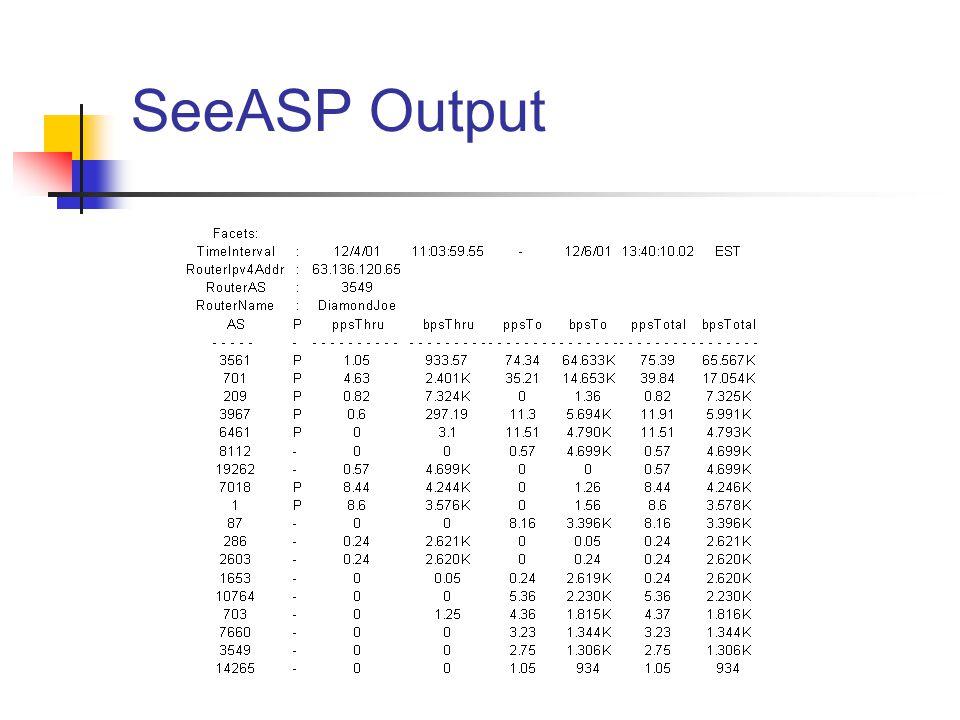 SeeASP Output