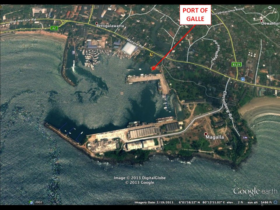8 PORT OF GALLE