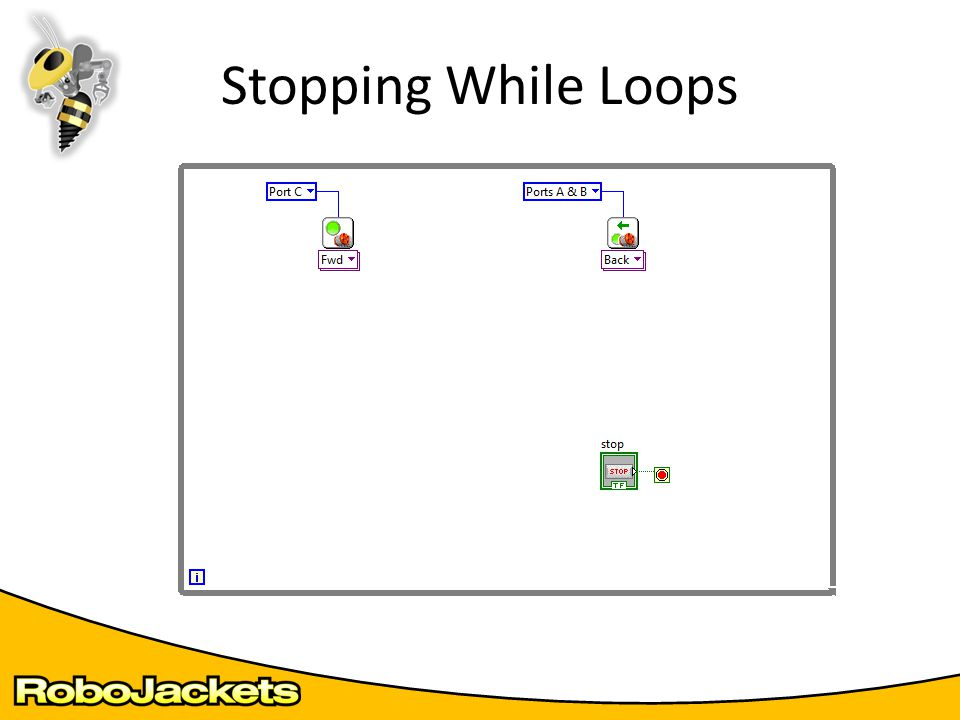 Stopping While Loops
