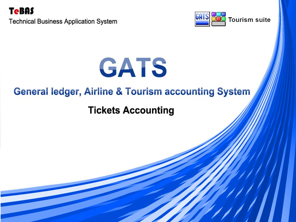 Multi ( Language - Currency- Branch ) GATS are characterized by the possibility of monitoring the movement of an infinite number of tickets, whether Sightseeing tickets, Cruises tickets, and Transport tickets.