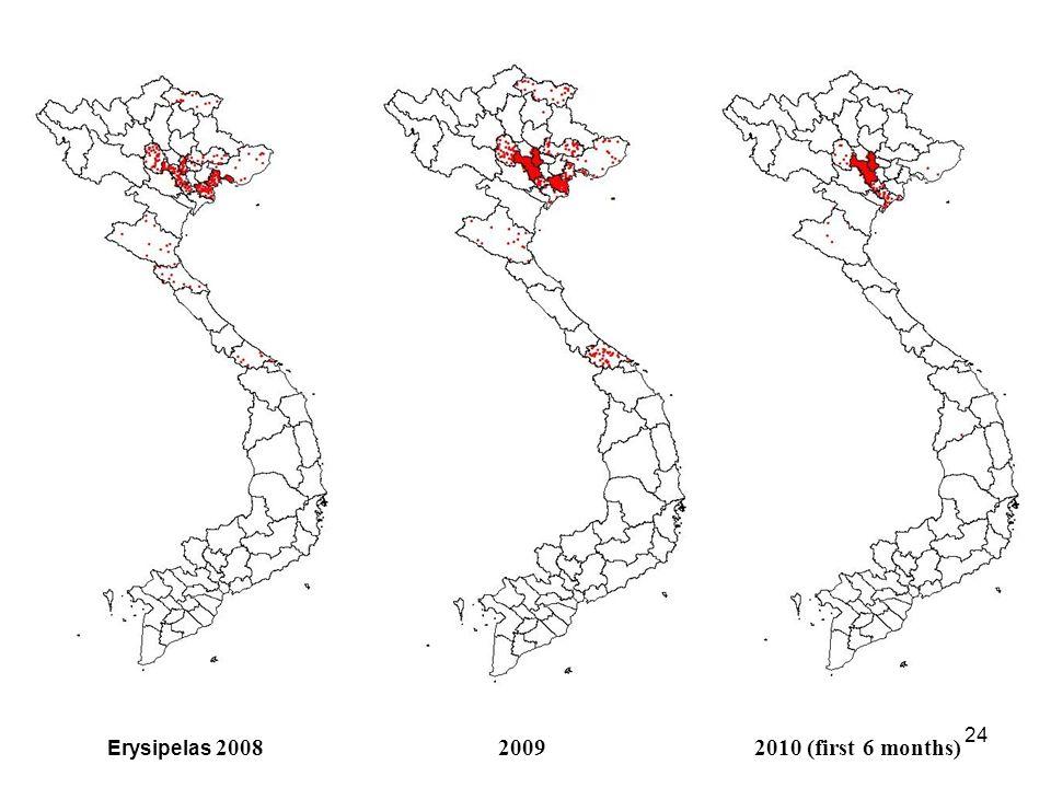 23 Erysipelas 200520062007
