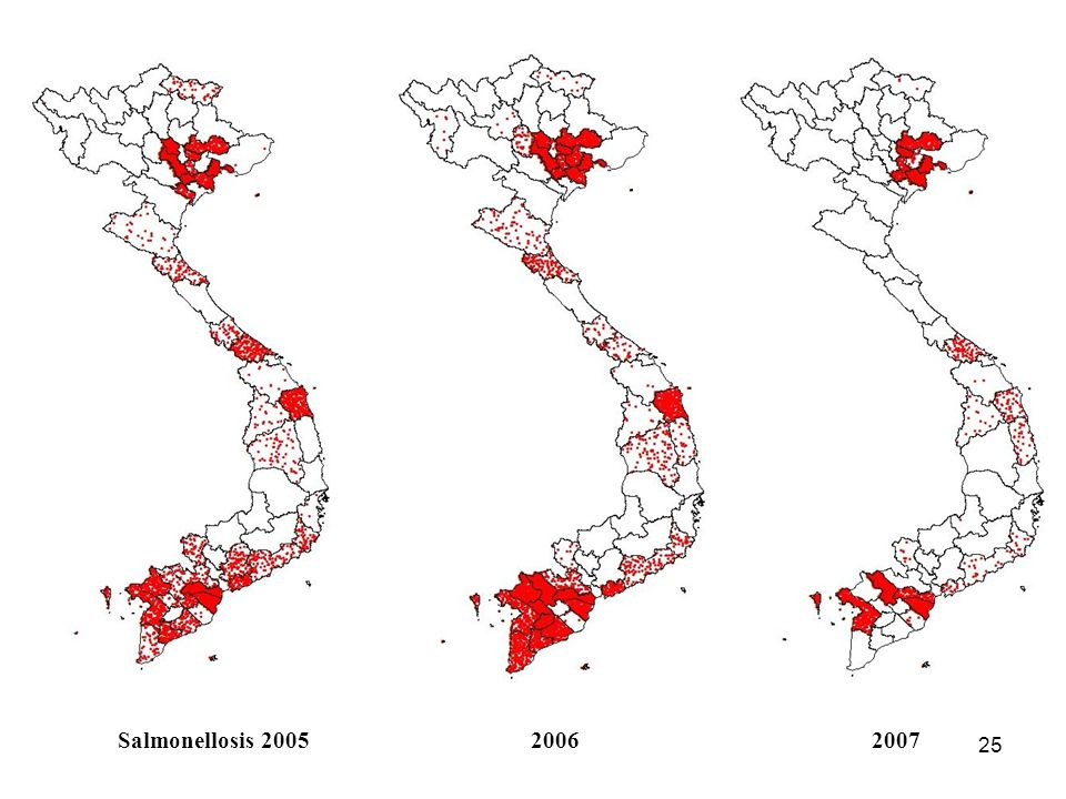 24 Erysipelas 200820092010 (first 6 months)