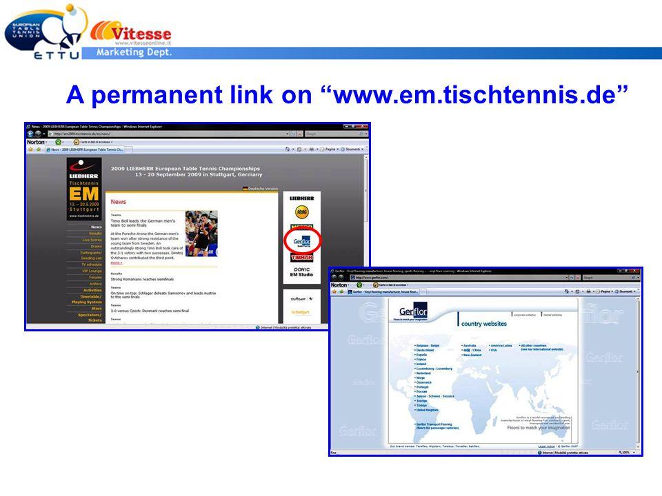 A permanent link on www.em.tischtennis.de