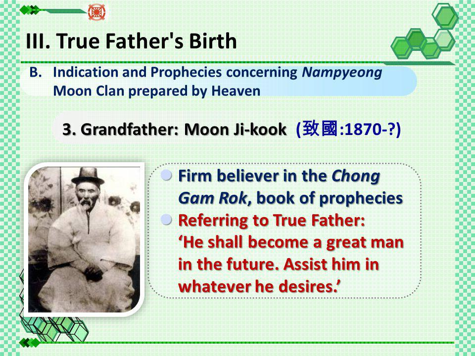 3. Grandfather: Moon Ji-kook 3.