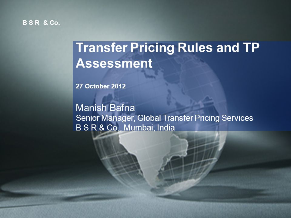 2 Agenda Transfer Pricing Rules - Overview - Practical Experience - Case Laws Penalties Transfer Pricing Assessments Advance Pricing Agreements - Overview