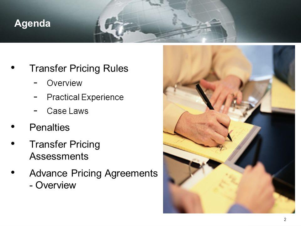 43 Transfer Pricing Assessment