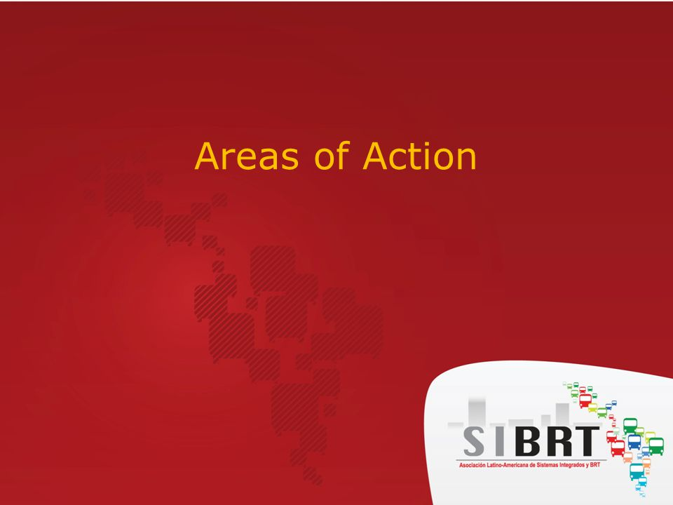 Areas of Action