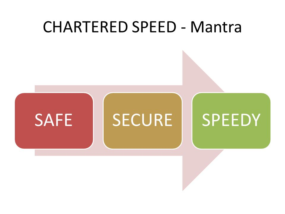 CHARTERED SPEED– GROUP COMPANY CHARTERED CABS PVT.