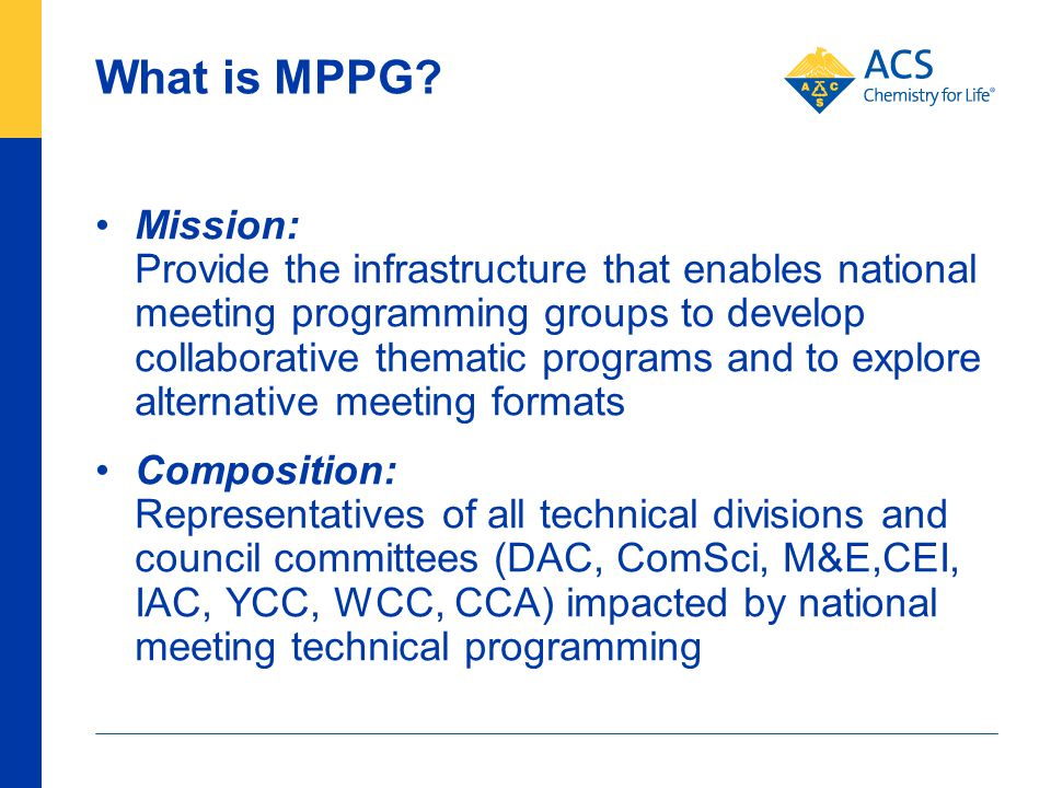 What is MPPG.