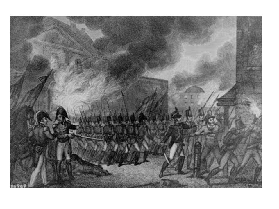 WASHINGTON D.C. BURNED BY BRITISH – August 24,1814