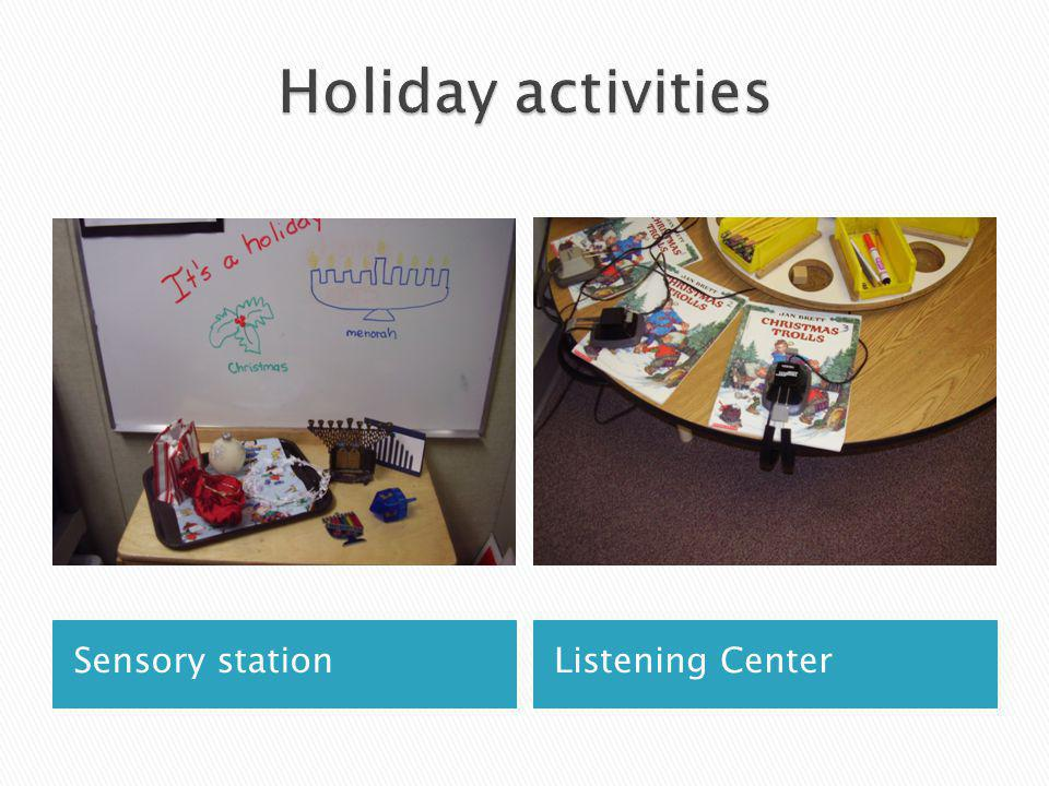Sensory stationListening Center