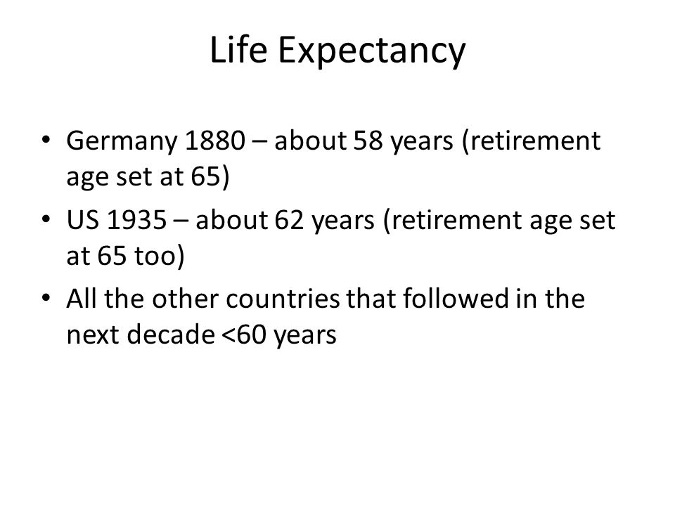 Life Expectancy at Birth (US)