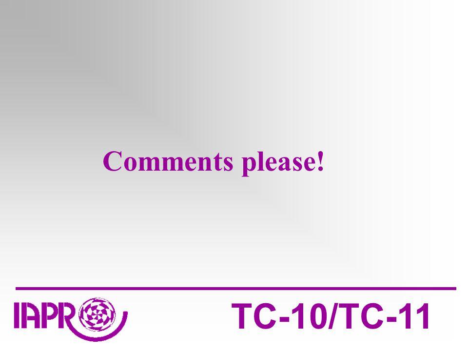 TC-10/TC-11 Comments please!
