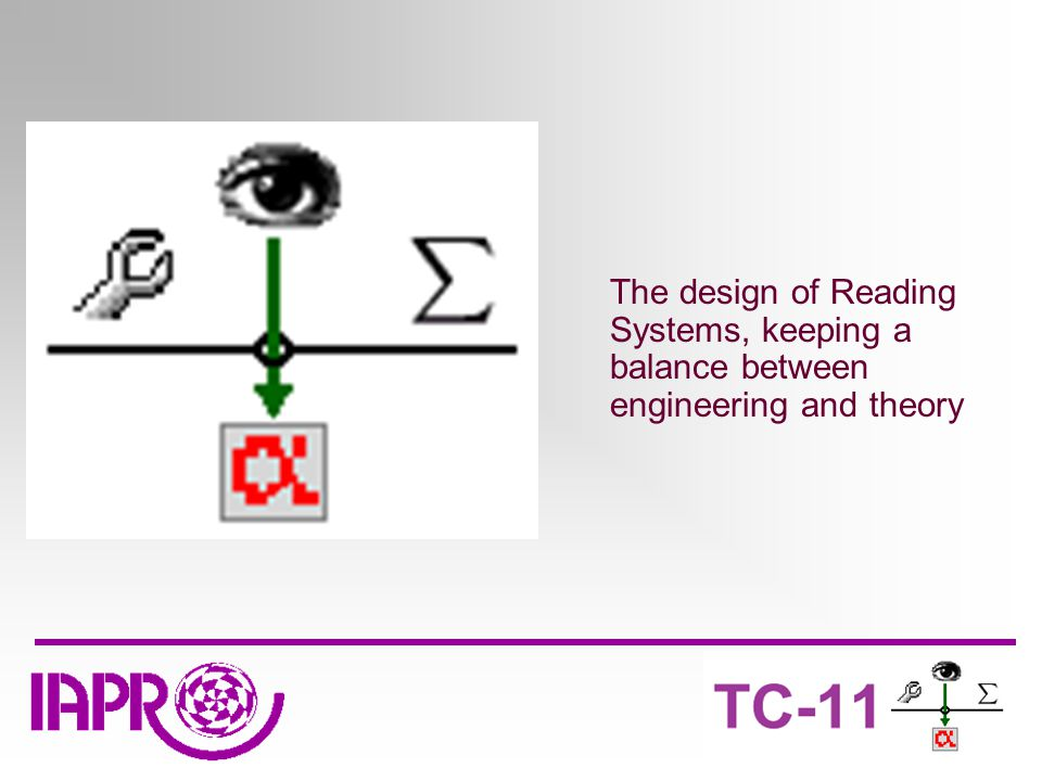 The design of Reading Systems, keeping a balance between engineering and theory
