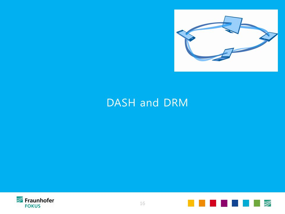 16 DASH and DRM