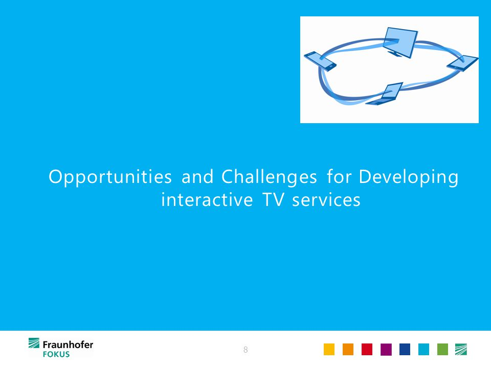 8 Opportunities and Challenges for Developing interactive TV services