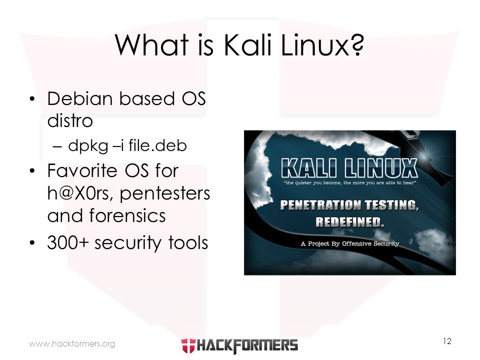 What is Kali Linux.