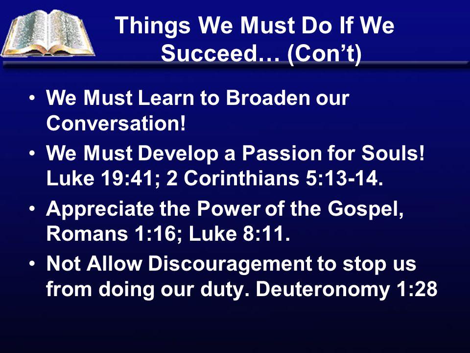 We Must Follow the Example of Jesus, Luke 19:1-10.