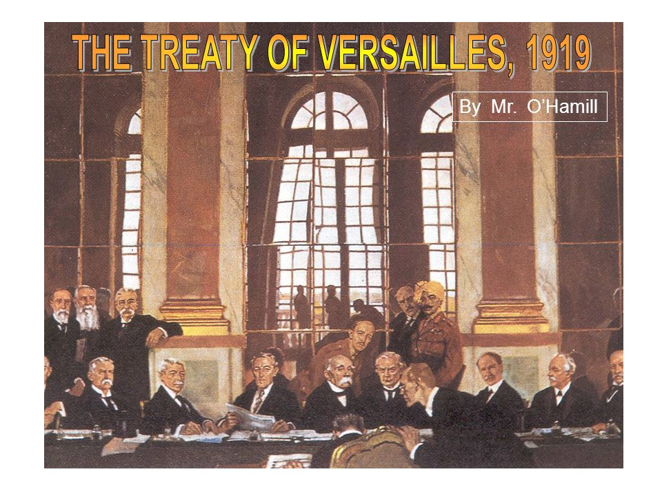 The consequences of Versailles The Treaty seemed to satisfy the Big Three as in their eyes it was a just peace as it kept Germany weak yet strong enough to stop the spread of communism; kept the French border with Germany safe from another German attack and created the organization, the League of Nations, that would end warfare throughout the world.League of Nations