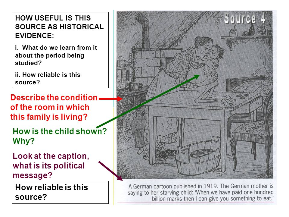 Describe the condition of the room in which this family is living.