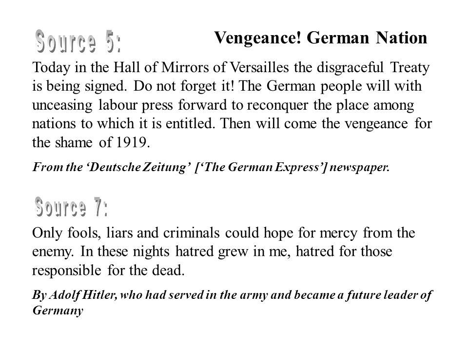 Vengeance.