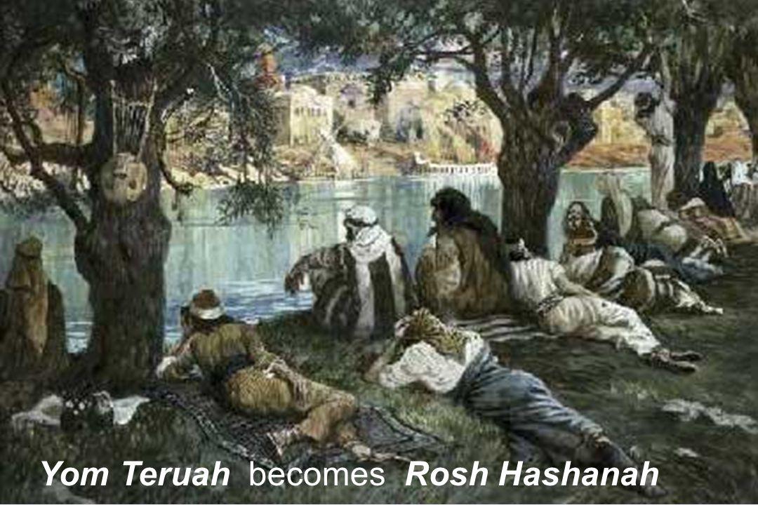 Yom Teruah becomes Rosh Hashanah