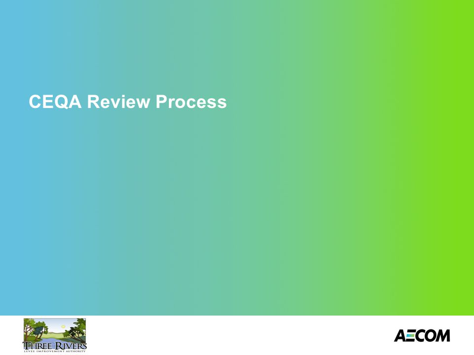 CEQA Review Process 18