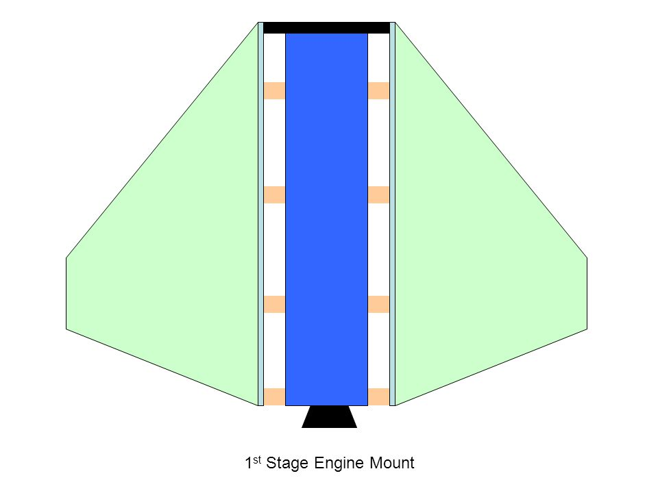 1 st Stage Engine Mount