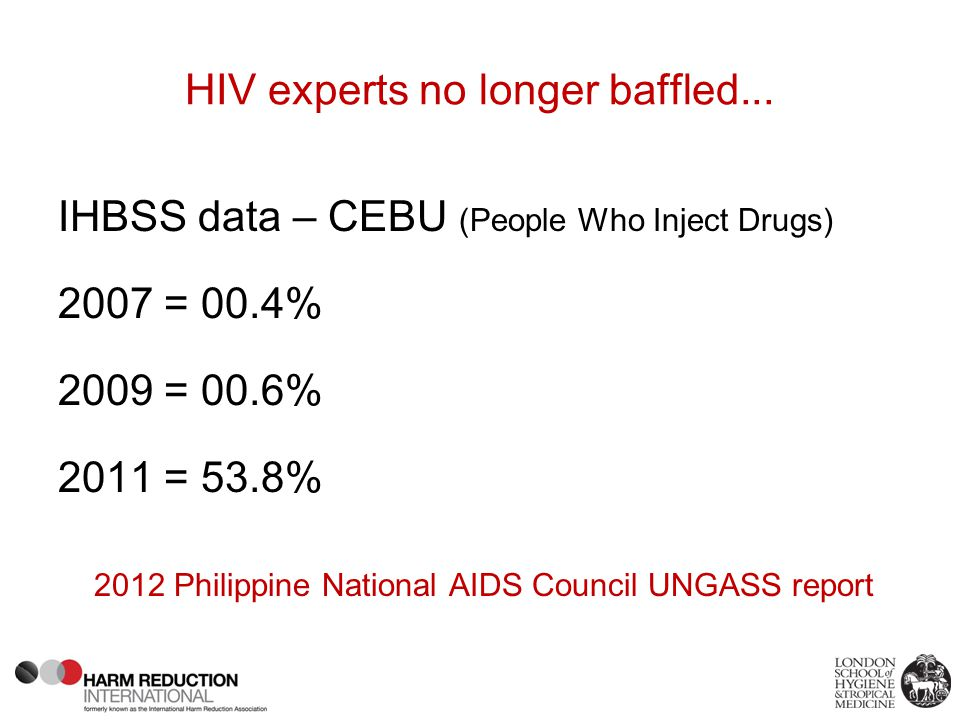 HIV experts no longer baffled...