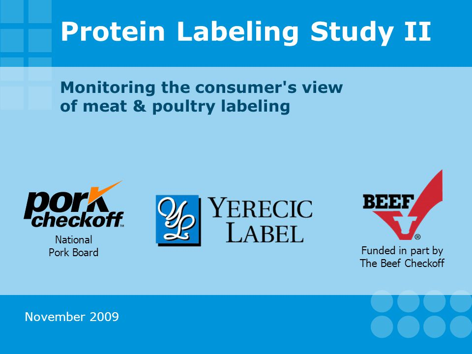 Consumer Attitudes & Preferences General 12 Source: Shugoll Research, Protein Labeling Study II – 2009.